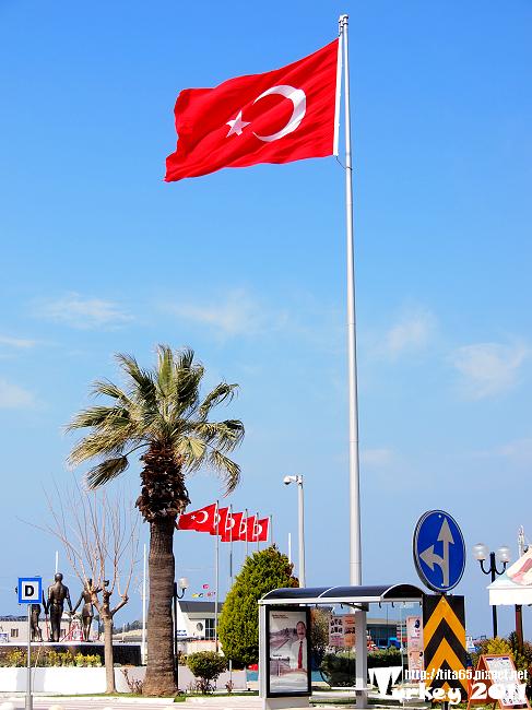 萬歲~~~其實土耳其到處都是土國國旗