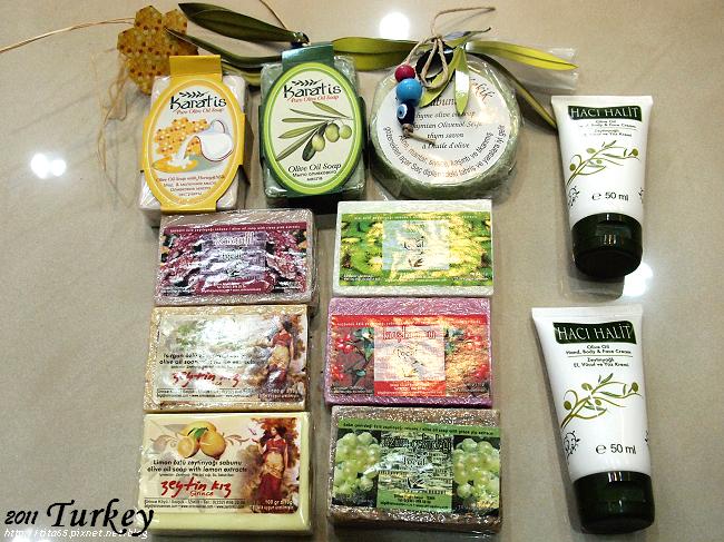 Sirince的橄欖油香皂&護手霜
