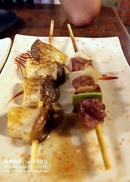 好吃的串燒