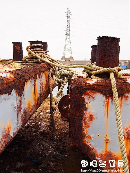 廢棄的船隻
