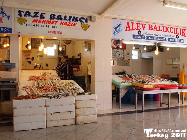 還有魚市場