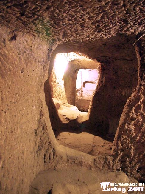 Derinkuyu ve Kaymakli Yeralti Sehri