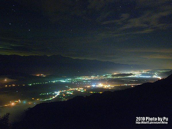 台東縱谷的夜景~EPL1 夜景的極限~ISO 400 & 60sec