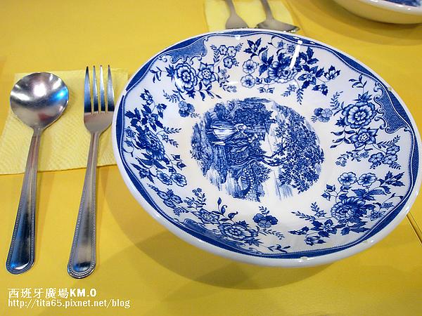 別緻的瓷盤~made in Italy~