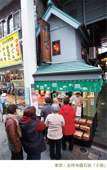 東京‧吉祥寺鑽石街「小笹」