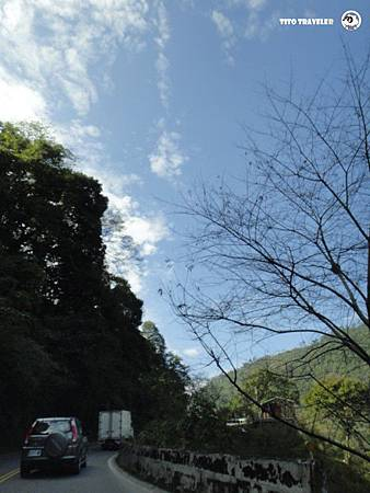 南投的天空