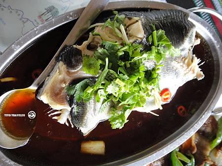 布洛灣--清蒸鱒魚