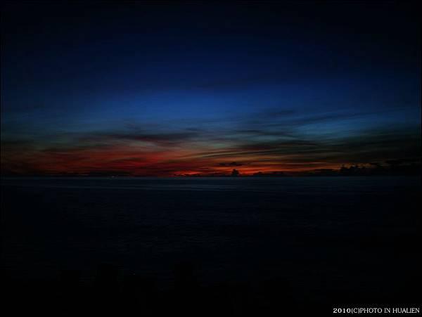 火燒雲等日出
