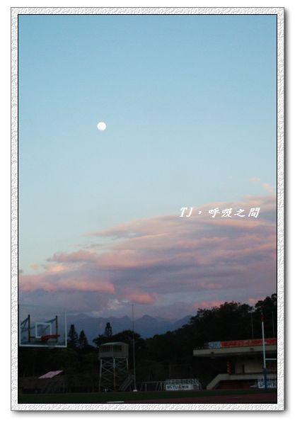 嘉大天空~月亮