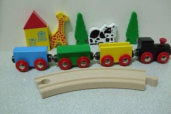 邦恩傑尼木製小火車