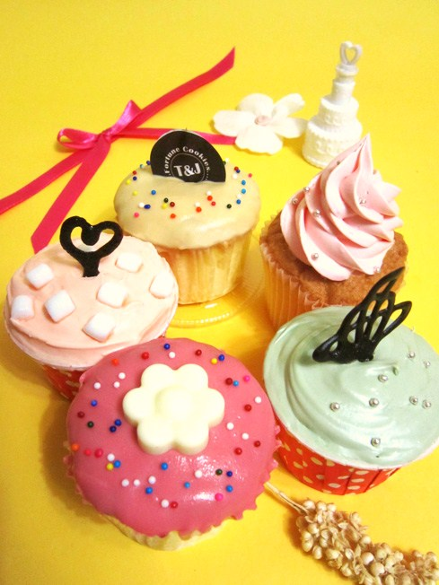 T&J Fortune Cupcake! 杯子蛋糕~