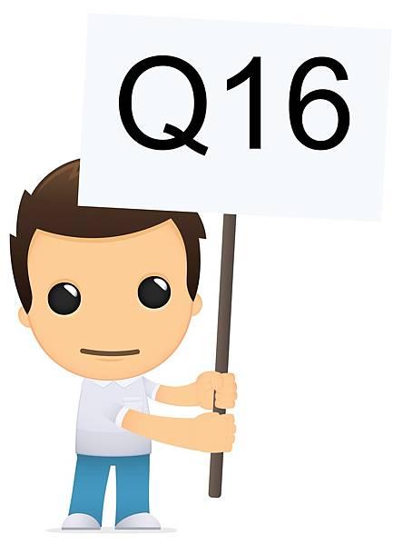 小編還沒看過這個小男孩換表情,舉著Q16問轉學考考完要準備什麼文件