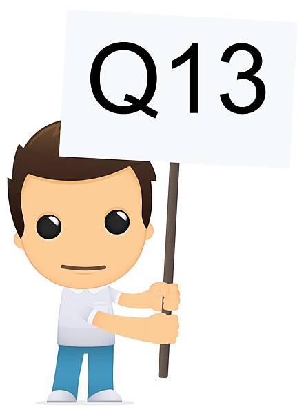 第13題的一號表情,男孩詢問二專科目與報考科系不同可否報考轉學考?