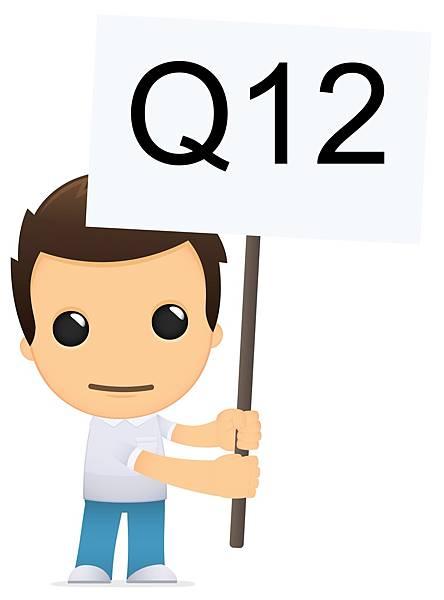 男子可愛的舉起第12題的旗子,問休學或二一可以轉學考嗎?