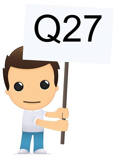 27題當中的大學轉學考考古題要去哪邊找呢,他問有答案嗎?