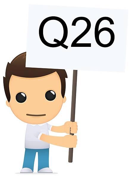 男孩說的第26題,是有關陸生大學轉學考的問題
