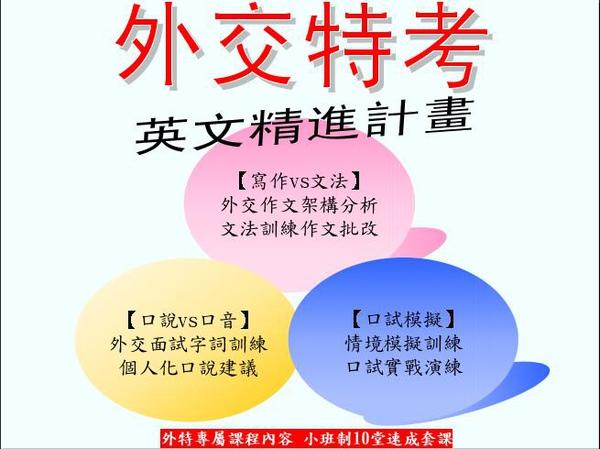 外交特考英文精進計畫