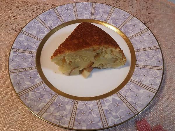 用炊飯器做蘋果蛋糕
