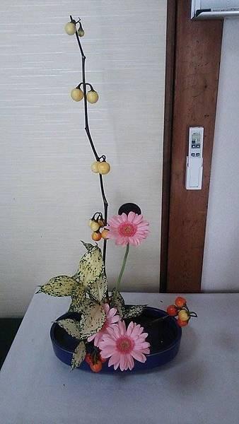10/18小原流先生のお宅