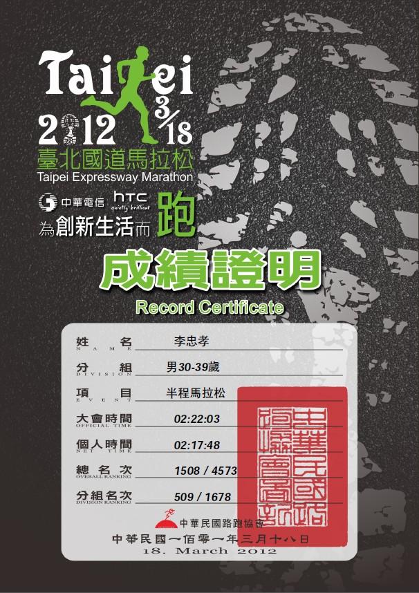20120318 國道馬拉松