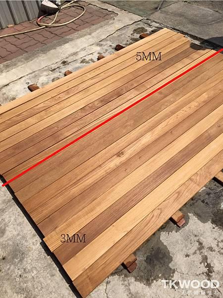 戶外木地板