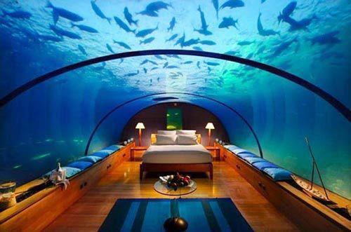 巴里島海底旅館