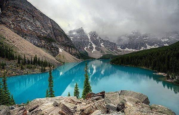 加拿大冰漬湖