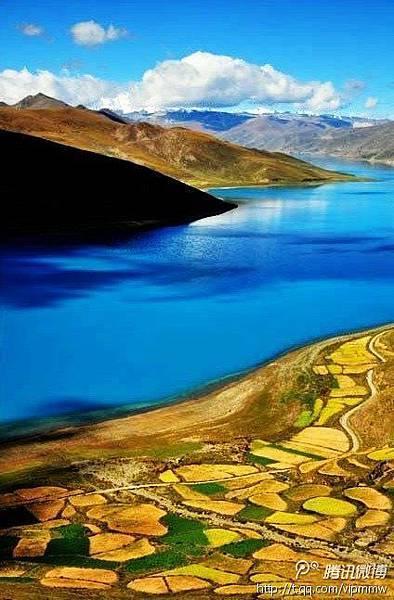 羊卓雍措.西藏