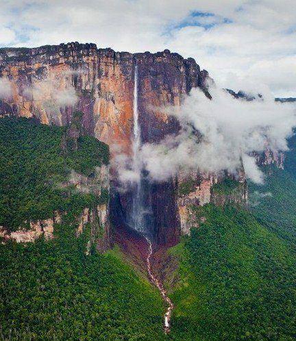 委內瑞拉 安赫爾瀑布