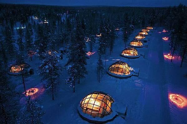 芬蘭Kakslauttanen