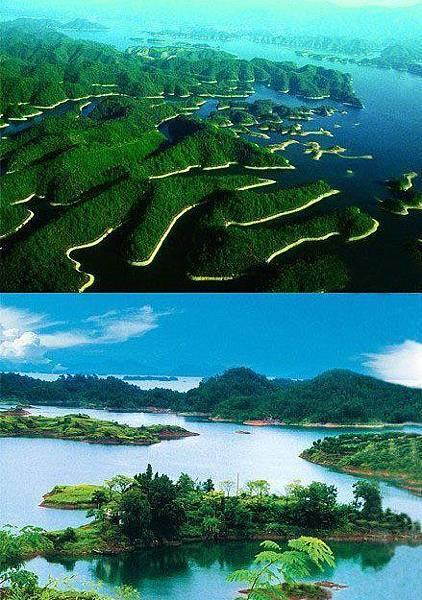 浙江千島湖