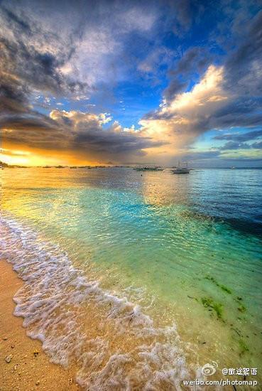 菲律濱海邊