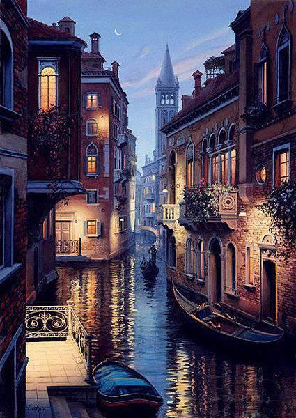 匯集上帝眼淚得威尼斯