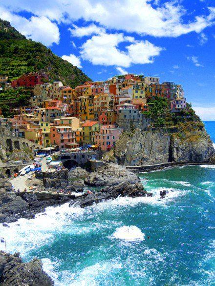 懸崖小鎮義大利馬納羅拉