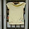 手樸隨想創意工作室XEmily手工車縫棉T: 小樹