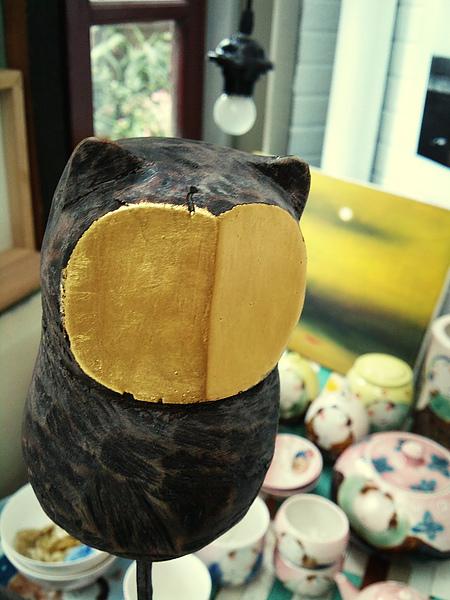 陳新民大哥的貓頭鷹木雕!金山出產品質保證