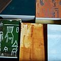 筆記本分有圖案與單色刷版兩種