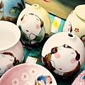 胖女人系列陶作品