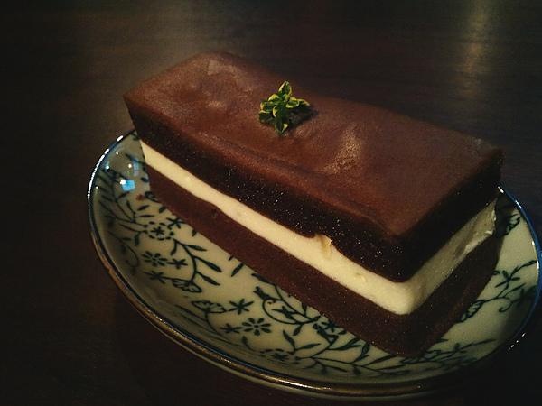黑美人巧克力起士蛋糕