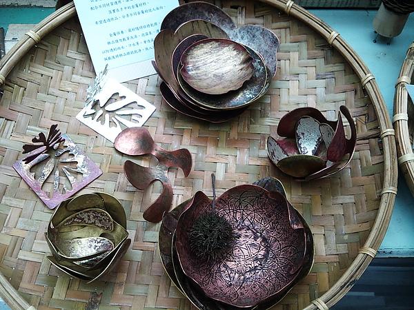紅黃銅手作金工品