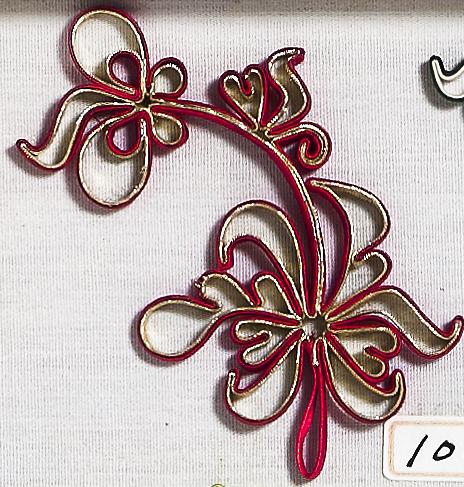 大花釦 - 蝴蝶蘭