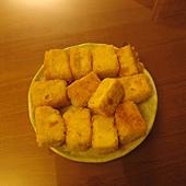 女主人廚藝-黃金炸豆腐1.JPG
