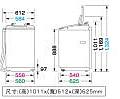 HITACHI日立洗衣機SF-BW10JV1