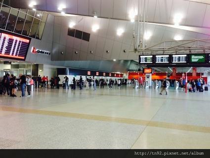 Qantas Domestic Terminal Interior