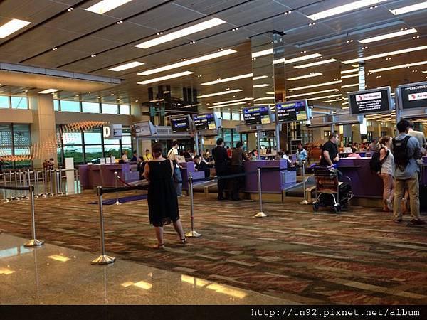 IMG_7447 Bangkok Airways and Air Niugini Check In Counters