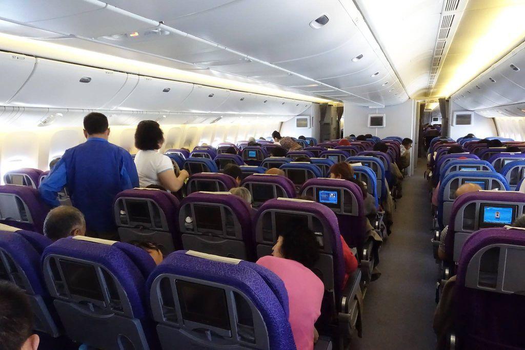 1127 DSC07216 Cabin View Slightly Before Landing Prep