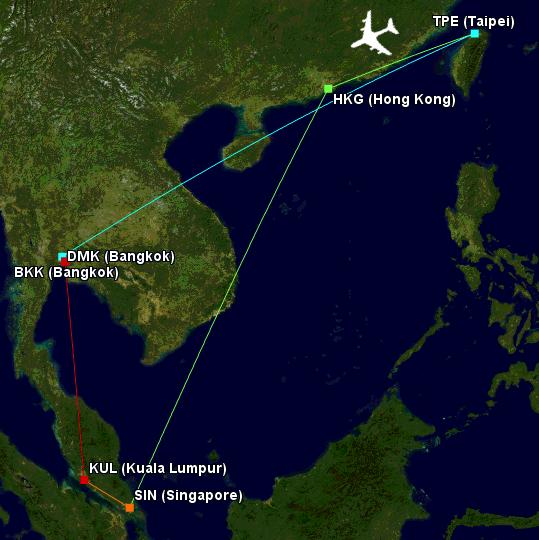 001 Flight Map (8-10 May) EDITED.png