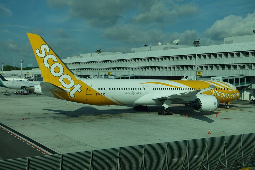 0910DSC09473 Scoot to Nanjing Now Renumbered to TZ182