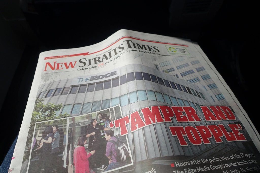 0955DSC09510 Newspaper - New ST