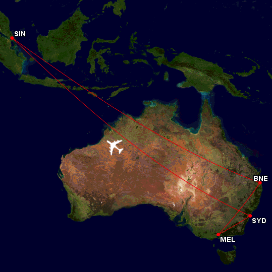 0 Flight Map (23 Sep to 3 Oct) EDITED